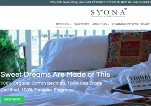 syona-bedding
